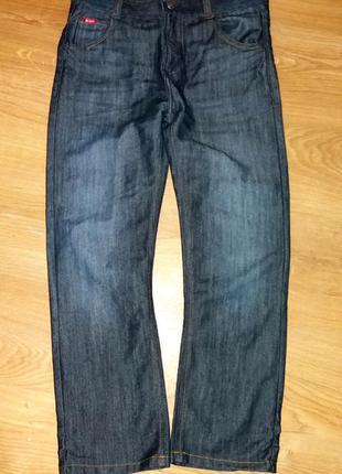 Стильные джинсы lee cooper на 11-12 лет состояние новых