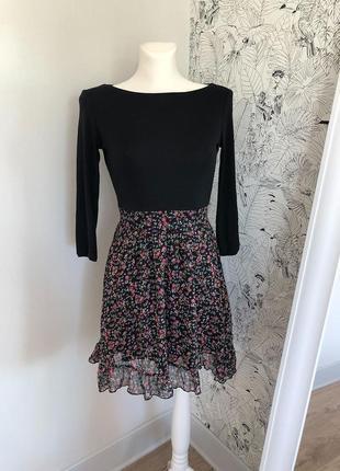 Красивое платье в цветочек мармелад