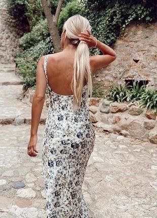 Платье zara, как шелк, премиум коллекция