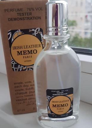 Tester memo irish leather