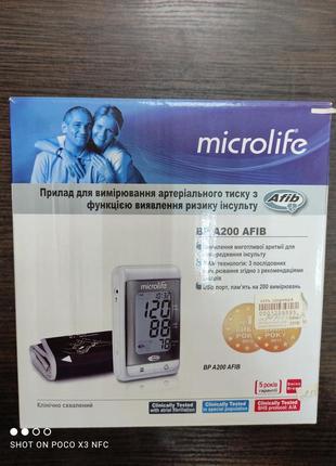 Тонометр  microlife bp a200 afib