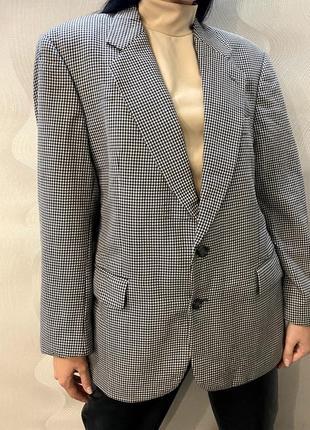 Пиджак серый «гусиные лапки»
