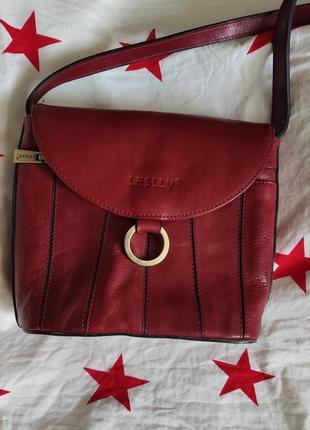 Кожаная сумочка,, leslly,,