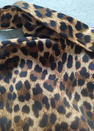 Платье рубашка леопардове плаття сорочка zara7 фото