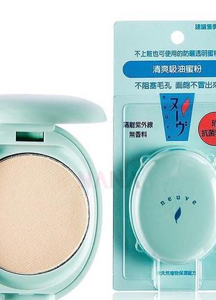 Shiseido матирующая пудра с спф фильтром