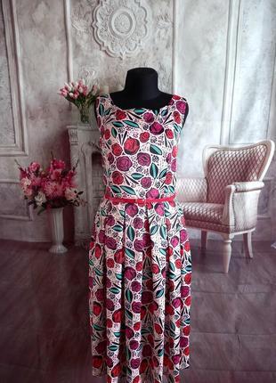 Мега стильное платье миди с карманами