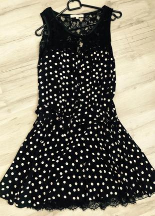 Платье в горох sweet miss