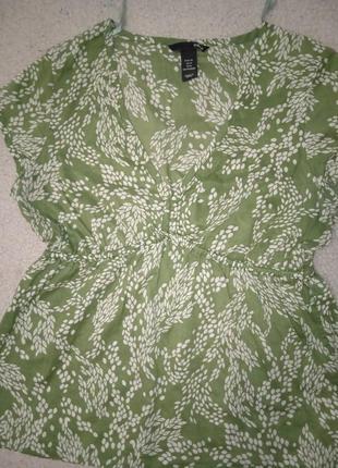 Легкая летняя блузка размер м