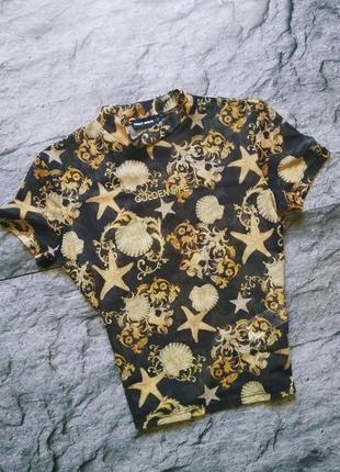 Модный прозрачный топ водолазка футболка сетка с англами и узорами8 фото