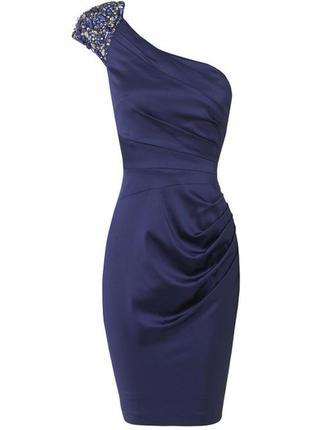 Вечернее коктельное платье миди