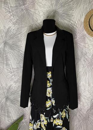 Черный пиджак/жакет