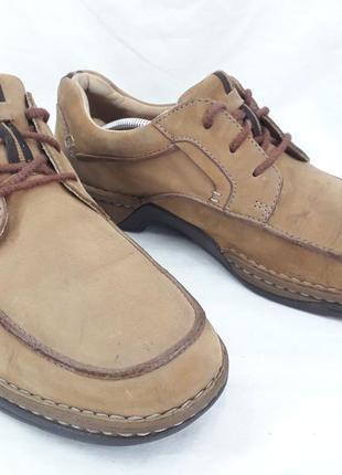 Туфли кожа, оригинал clark's 44-45 размер.
