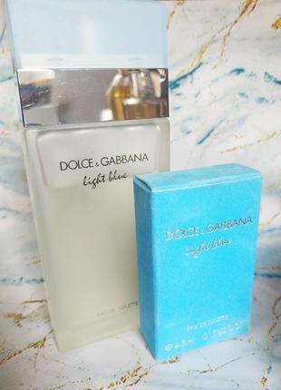 Духи оригинал dolce&gabbana light blue