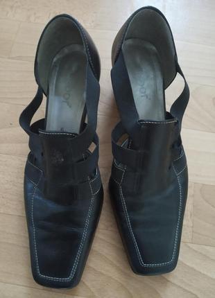 Туфли, босоножки ,,gabor,, австрия,натуральная кожа ,41