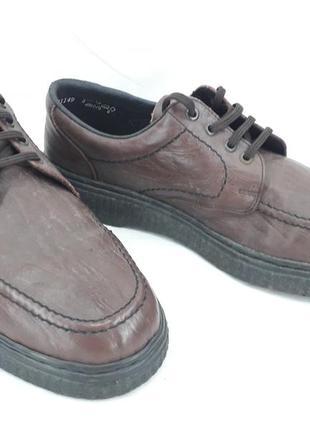 Туфли кожа, оригинал rieker 46 размер.