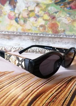 Эксклюзивные чёрные брендовые солнцезащитные очки 20212 фото
