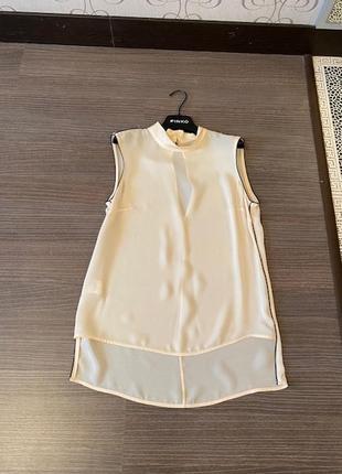 Лёгкая и воздушная блуза известного бренда pinko, италия, оригинал, размер xs-s
