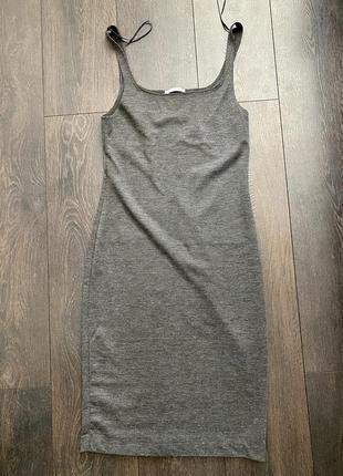 Платье облегающее zara