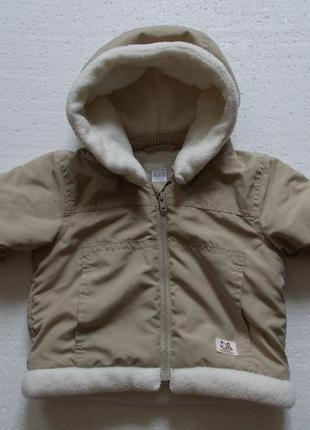Курточка демисезонная h&m унисекс на 2-4 месяца