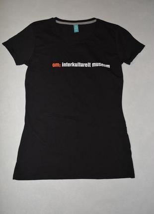 Футболка женская хлопок spread shirt германия размер 48-50