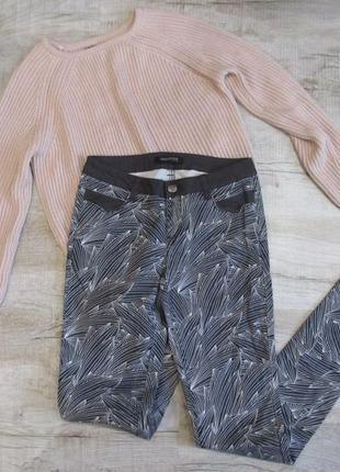 Штаны с красивым принтом от bonobo jeans