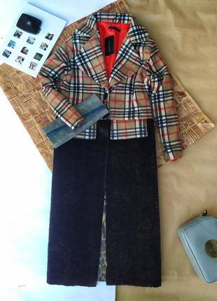 Оригинальное пальто от zara. демисезонное