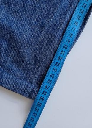Синие рваные джинсы на низкий рост2 фото
