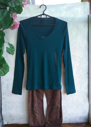 Piazza-italia кофта + трикотаж штани домашній підібраний комплект одяг є нюанс*