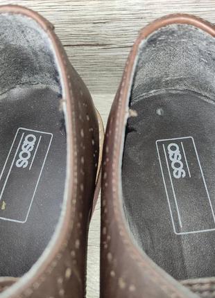Asos 42p туфли мужские кожаные индия9 фото