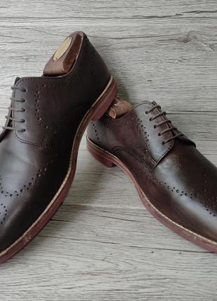 Asos 42p туфли мужские кожаные индия6 фото