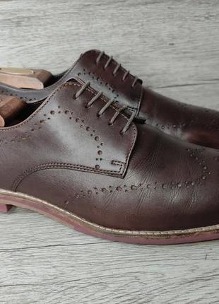 Asos 42p туфли мужские кожаные индия2 фото
