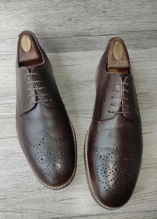 Asos 42p туфли мужские кожаные индия3 фото