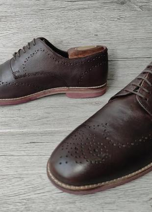 Asos 42p туфли мужские кожаные индия4 фото