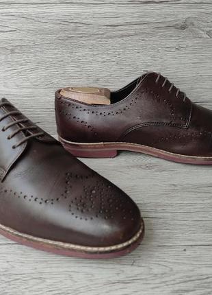 Asos 42p туфли мужские кожаные индия5 фото