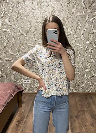 Рубашка блуза топ pull&bear