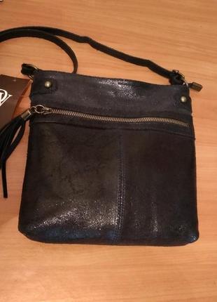 Кожаная сумка genuine leather