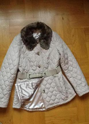 Скидки на всю верхнюю одежду!!!стильная стеганая куртка