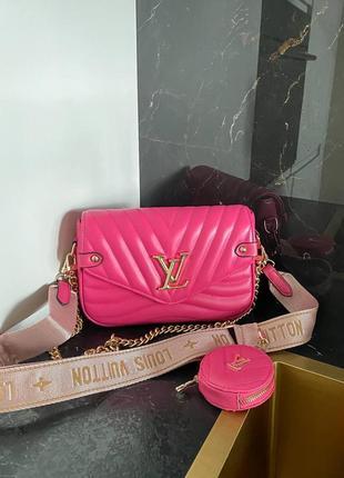 ❤ женская розовая сумка сумочка  new wave multi-pochette pink  ❤