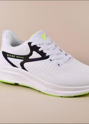 Женские кроссовки dittof trend white