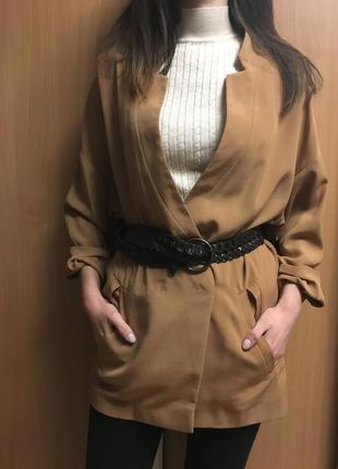 Лёгкий блейзер пиджак жакет р 10
