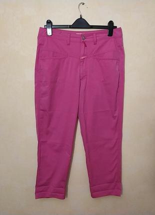Батал большой размер шикарные легкие розовые стильные штаны штаники брюки брючки