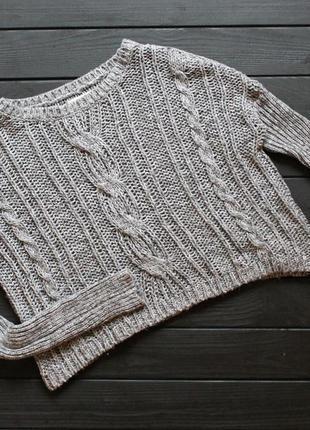 Укороченный свитер abercrombie