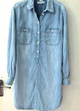 Трендовое джинсовое платье