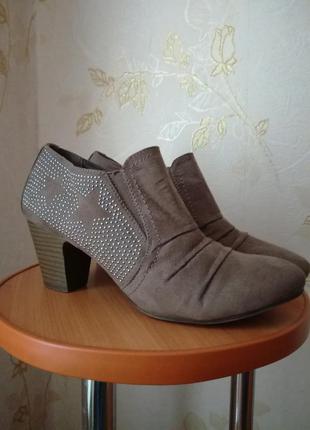 Ботильоны ботинки полусапожки