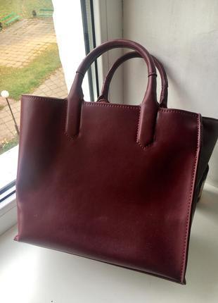 Zara сумочка - шоппер
