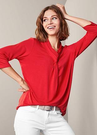Стильная оригинальная женская кофта, блуза от tcm tchibo (чибо), германия, m-4xl