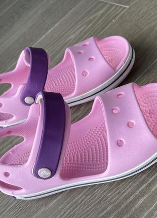 Детские сандали crocs