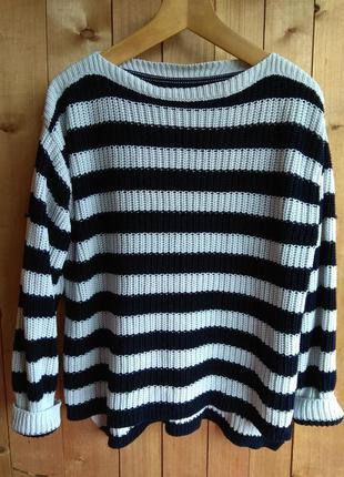 Очень крутой вязаный свитер