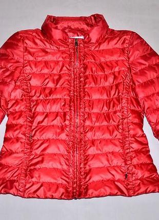 Куртка max mara пуховик короткий приталенная куртка intrend by maxmara // marella пуховик