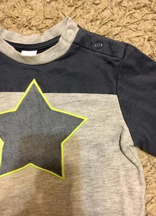 Теплый хлопковый свитер c&a, на рост 92 см